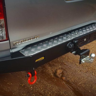 Onca Rear Bumper with tow Bar