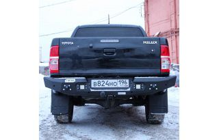 Rival 4x4 Rear 6mm Aluminum Bumper